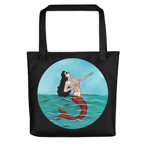 La Sirena Circle Tote Bag