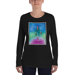 La Dama Loteria Women's Long Sleeve T-Shirt