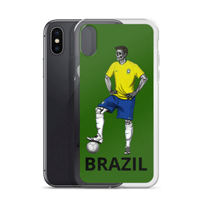 El Futbolista Brazil Plain iPhone Case