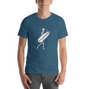 El Surfista Skeleton Shaka Men's T-Shirt