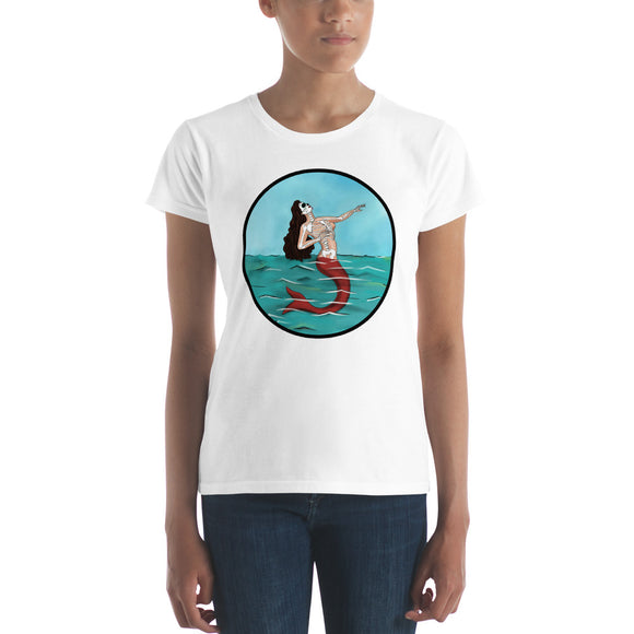 La Sirena Circle Women's t-shirt