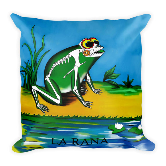La Rana Loteria Pillow