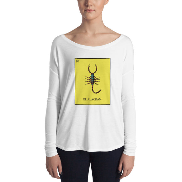 El Alacran Loteria Women's Long Sleeve Tee