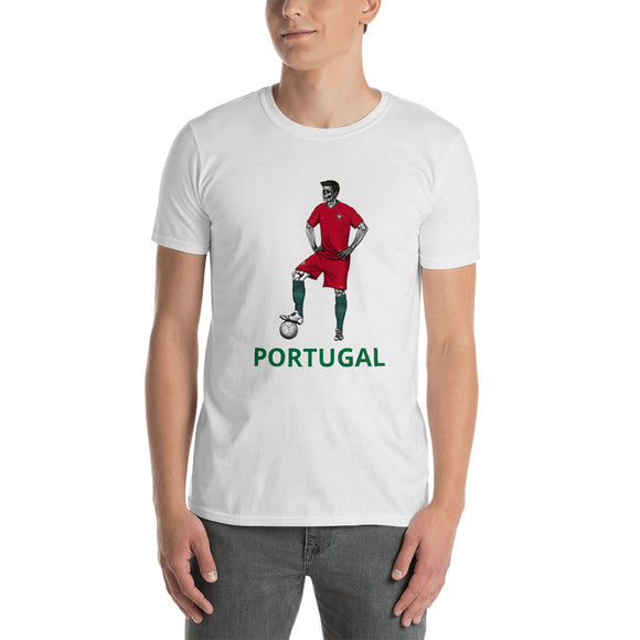 El Futbolista Portugal Plain Men's T-Shirt