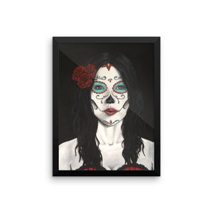 Catrina Dia de los Muertos (Day of the Dead) print by Pilar Grother
