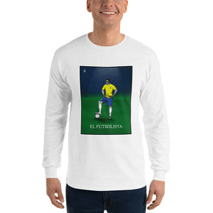 El Futbolista Loteria Brazil Men's Long Sleeve T-Shirt