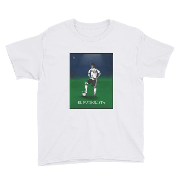 El Futbolista Loteria Germany Boy's T-Shirt