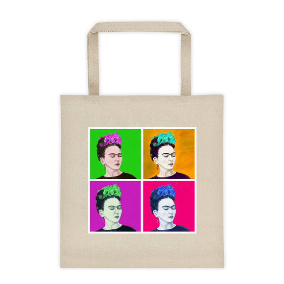 Las Fridas Sola Pop Tote bag 12oz