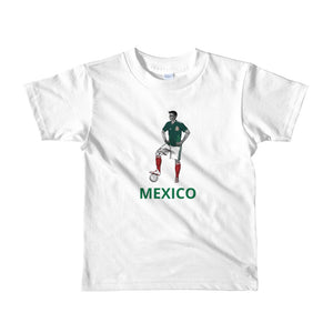 El Futbolista Mexico Plain kids 2-6 yrs t-shirt