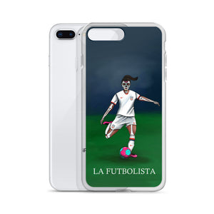 La Futbolista Loteria iPhone Case