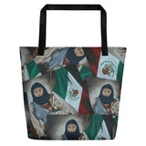 La Soldadera All-Over Beach Bag