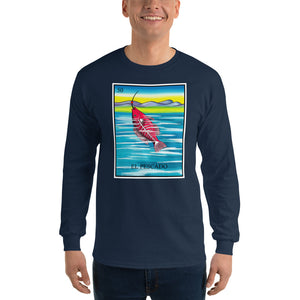 El Pescado Loteria Long Sleeve T-Shirt