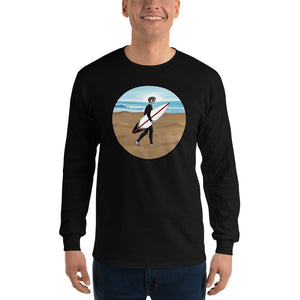 El Surfista Circle Men's Long Sleeve T-Shirt
