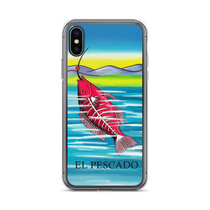 El Pescado Loteria iPhone Case