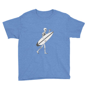 El Surfista Skeleton Shaka Boy's T-Shirt