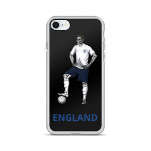 El Futbolista England Plain iPhone Case