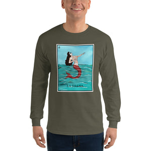 La Sirena Loteria Men's Long Sleeve T-Shirt