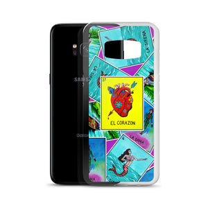 Las Damas Corazon Loteria All-Over Samsung Case