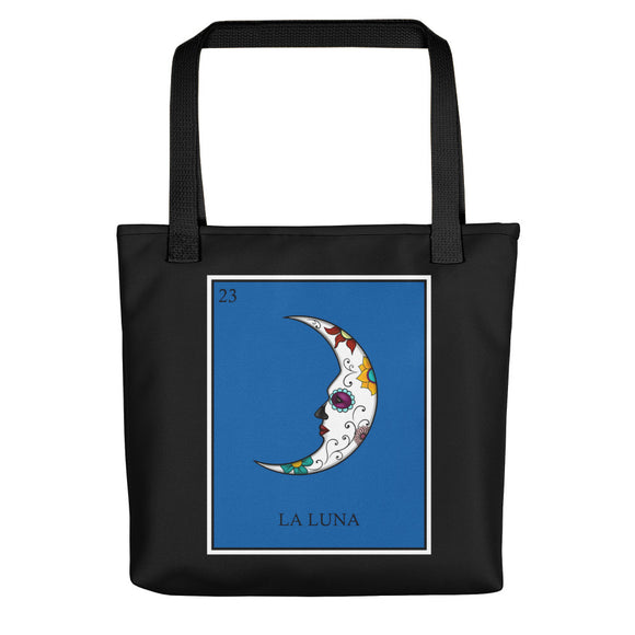 La Luna Loteria All-Over Tote bag