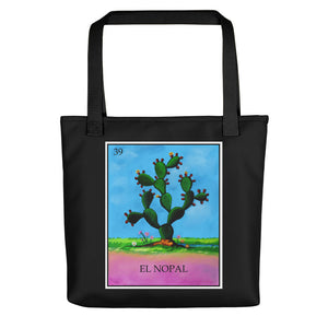 El Nopal Loteria All-Over Tote bag