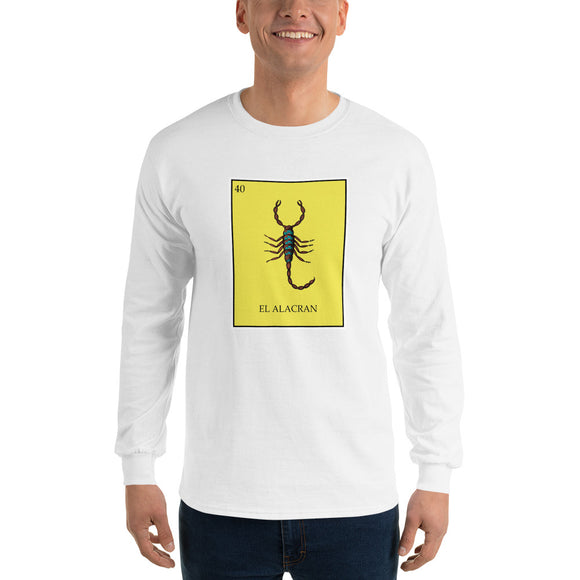 El Alacran Loteria Men's Long Sleeve T-Shirt