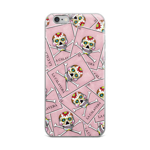 La Calavera Loteria All-over iPhone Case