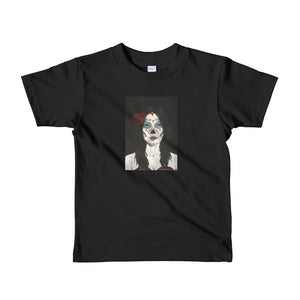 Catrina Day of the Dead kids 2-6 yrs t-shirt