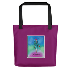 La Dama Loteria All-Over Tote bag