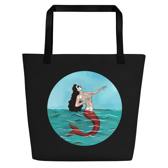 La Sirena Circle Beach Bag
