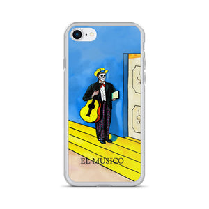 El Musico Loteria iPhone Case