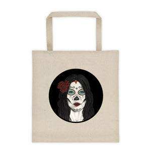 Catrina Circle Tote bag 12oz