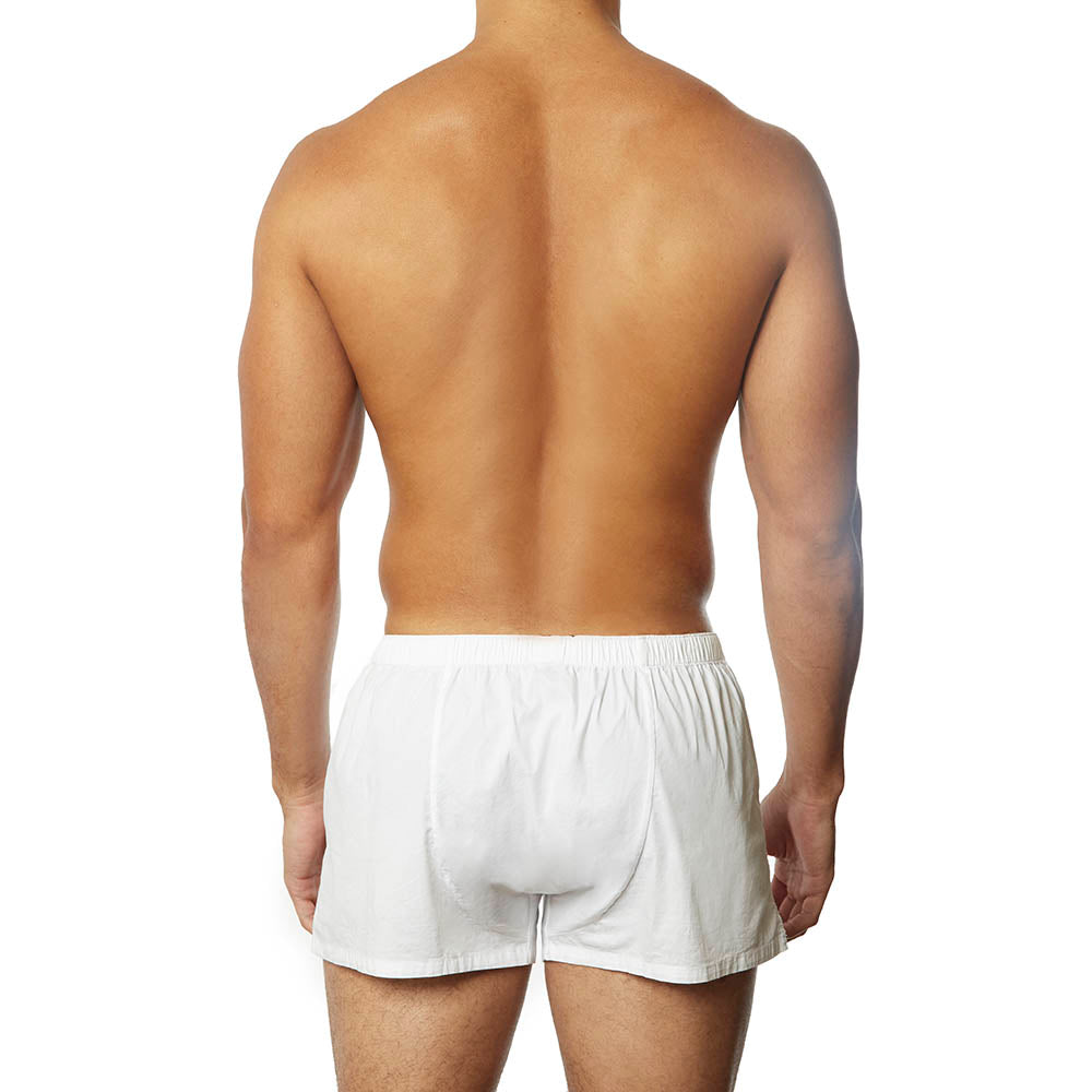 White-fitted-boxer-short-lounge