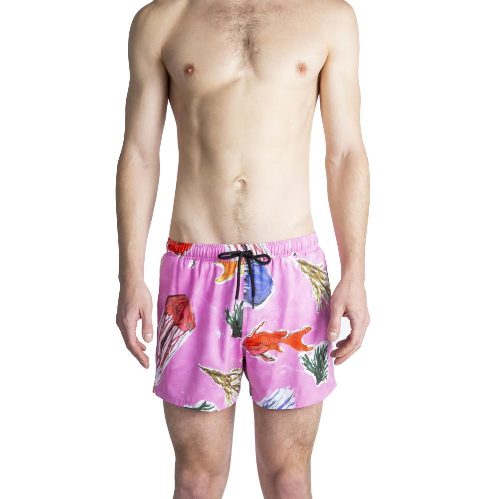 Swim Short – Pink Jellies – Ali Forney Center Fundraiser Colab