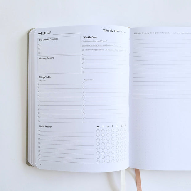 Undated Planner - Limited