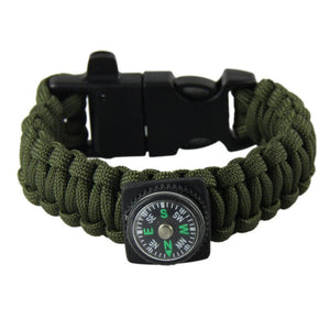 Survival Paracord Bracelets Multi-tool - at sylentbeast.net an online store for outdoor gear.
