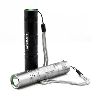 Tactical LED Flashlight - at sylentbeast.net an online store for outdoor gear.