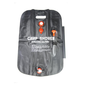 5 Gallon Portable Solar Shower Bags - at sylentbeast.net an online store for outdoor gear.