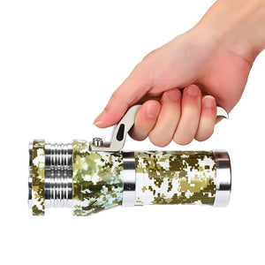 Rechargeable 3 LED Flashlight - at sylentbeast.net an online store for outdoor gear.