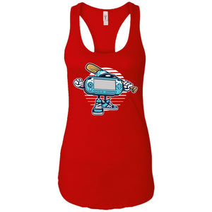 Game On - Gaming Art - Women's Racerback Tank Top