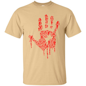 50 - RTP - Caffein Art - Hand Of Zombies - Horror Art - Adult Unisex T-Shirt
