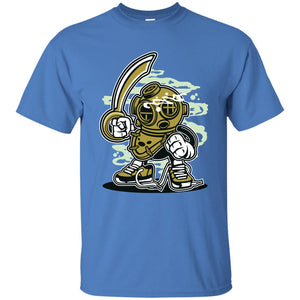 139 - RTP - Roach Graphics - Diver-01 - Adult Unisex T-Shirt