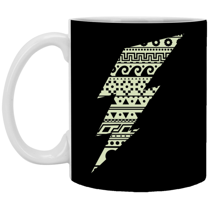 Thunderbolt - Super Heroe Art - 11 oz. White Mug - 91