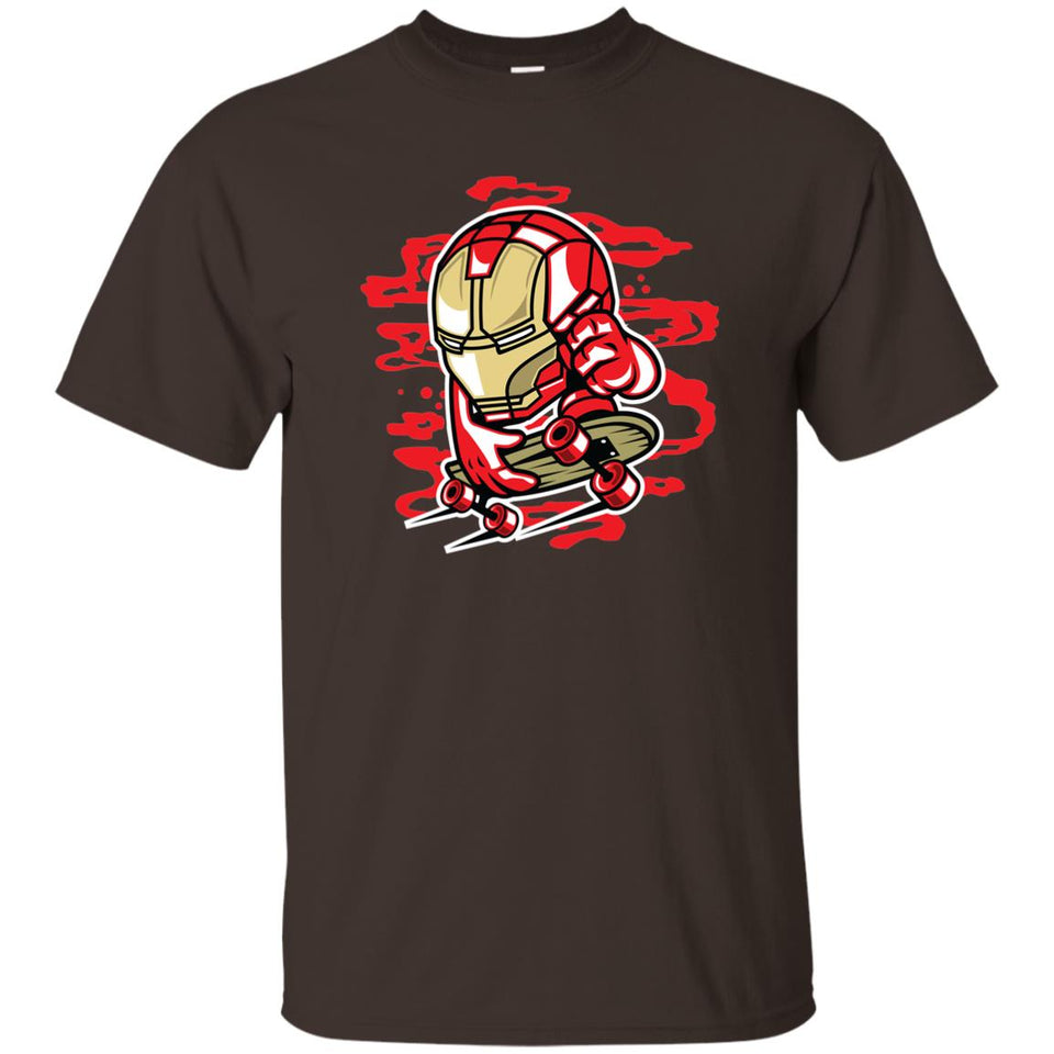 170 - RTP - Roach Graphics - Iron Skate-01 - Adult Unisex T-Shirt