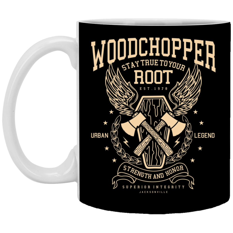 Woodchopper - 11 oz Ceramic Mug - 271