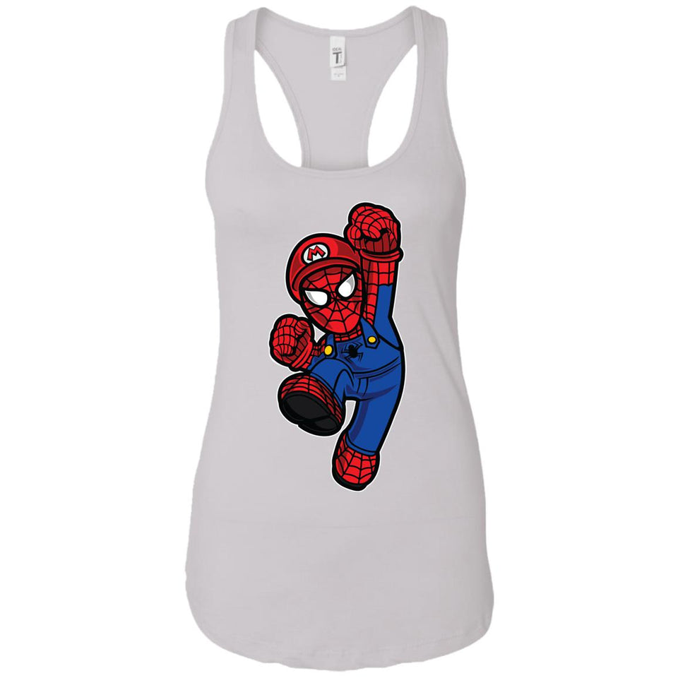 Spider Plumber - Movies Art - Women's Racerback Tank Top