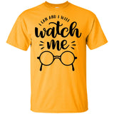 2238B - RTP - Inspirational Quotes - I Can And I Will Watch Me - Adult Unisex T-Shirt