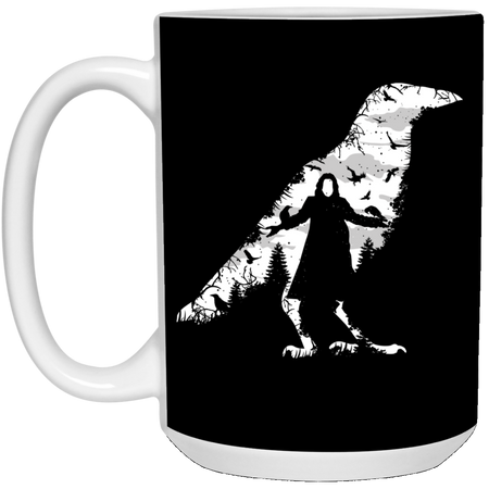 The Crow - Horror Art - 15 oz. White Mug - 89