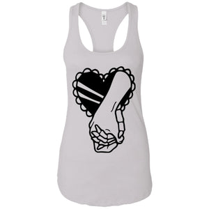 Romantic - Tattoos Art - Women's Racerback Tank Top