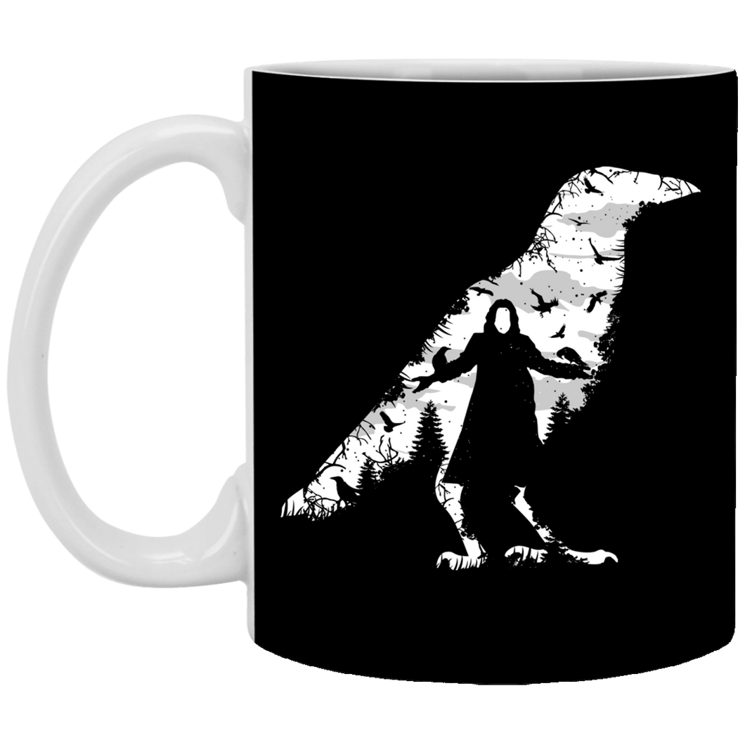 The Crow - Horror Art - 11 oz. White Mug - 89