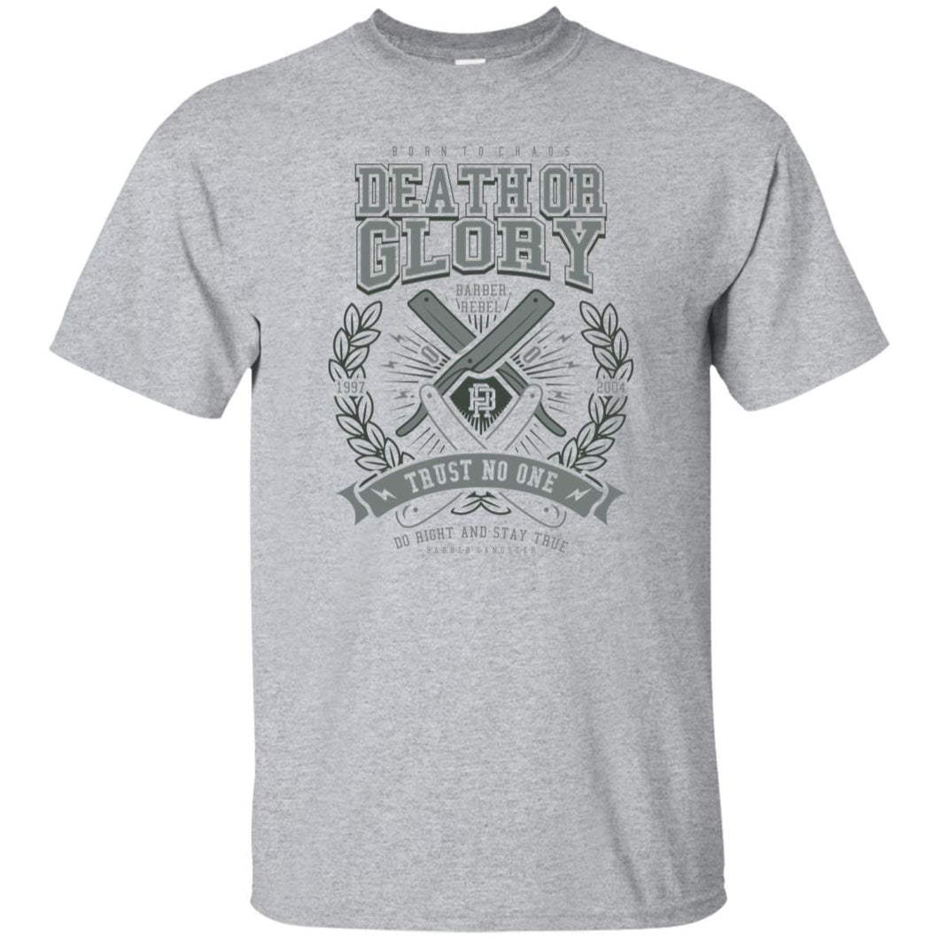 136 - RTP - Roach Graphics - Death Or Glory-01 - Adult Unisex T-Shirt